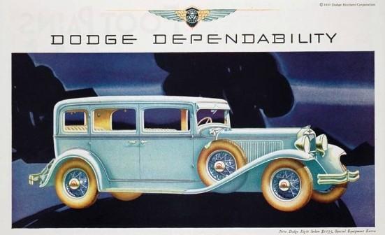 1931 Dodge Dependability 1931