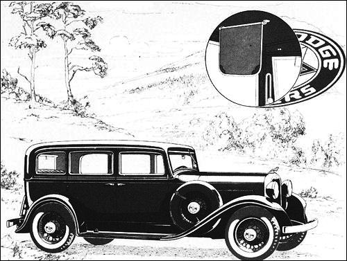 1932 Dodge dm four sedan