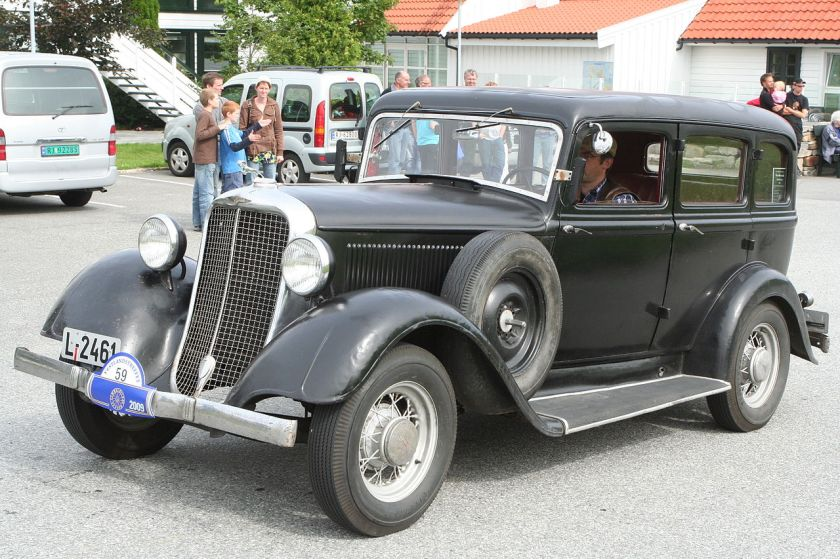 1933 Dodge DP Six