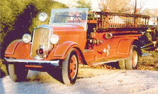 1934 Dodge 15ton StLouisopencabfiretruck6cyl4spd