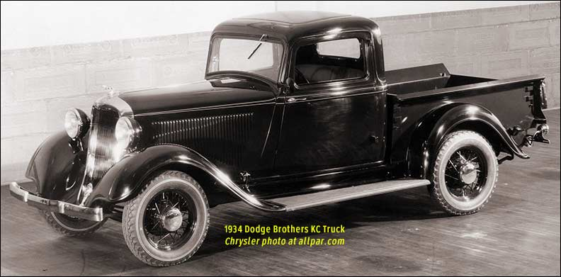 1934 Dodge Brothers KC-truck