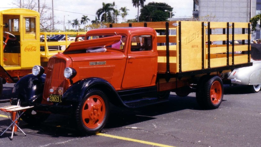 1934 Dodge K-34 2T stake bed truck