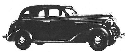 1935 Dodge du six sedan