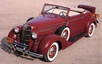 1936 Dodge convert