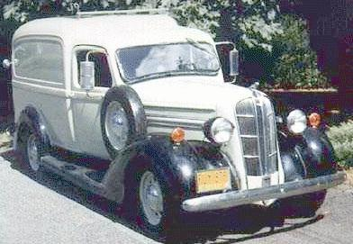 1936 Dodge paneltruck