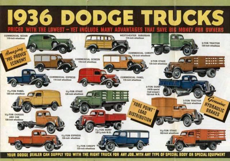 1936 Dodge Trucks