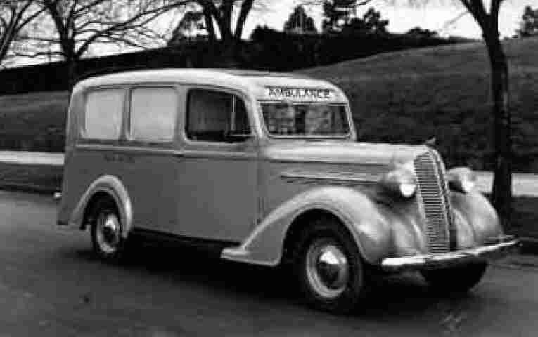 1937 Dodge D 5 Victoria's Ambu service