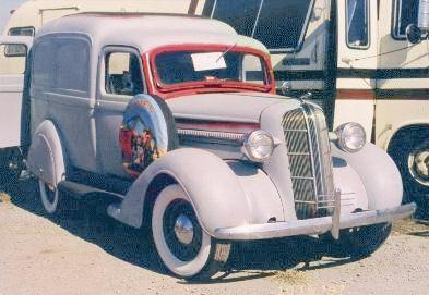 1937 dodge Delivery