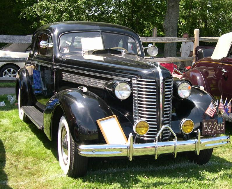 1938 års Dodge Coupé