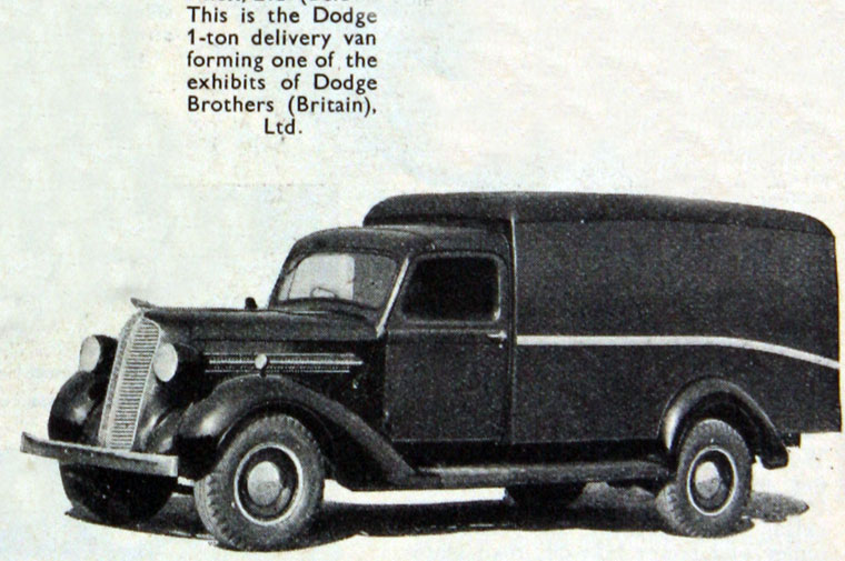 1938 Dodge Brothers Lorries