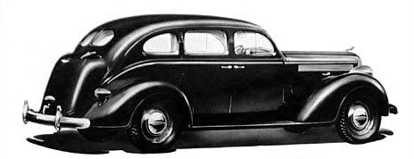 1938 Dodge six touring sedan
