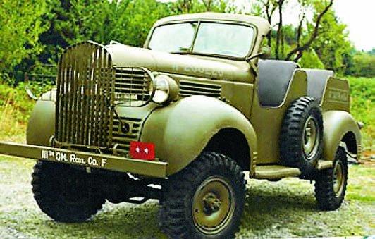 1939 Dodge Т202 VC1, 4x4