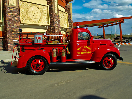 1939 Fargo Fire truck