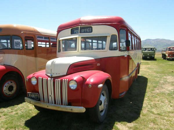 1939 NZ Dodge Postoffice Bus