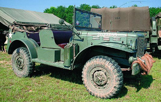 1940-45 Dodge Т214 WC56, 4x4