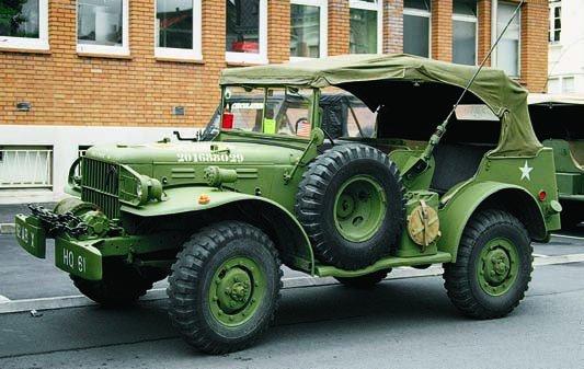 1940-45 Dodge Т214 WC58, 4x4