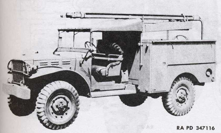 1940-45 Dodge K-50B