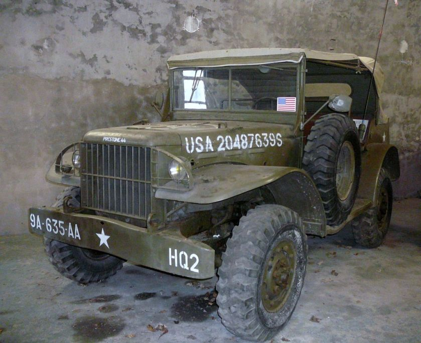 1940-45 Dodge T214- WC56 command car without winch