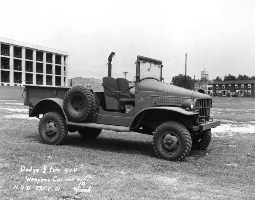 1940-45 Dodge WC-3 ½ ton 4x4