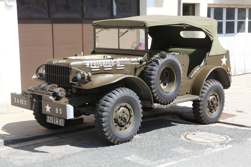 1940-45 Dodge WC-57 command car with winch