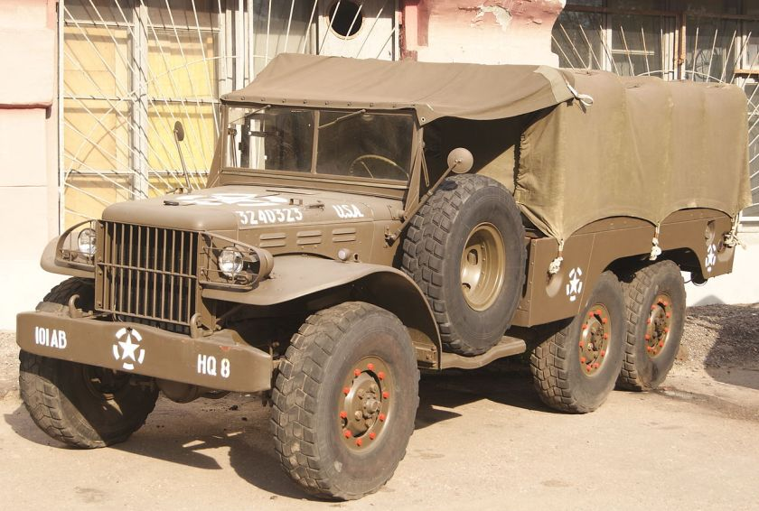 1940-45 Dodge WC-62 1.5 ton with no winch.