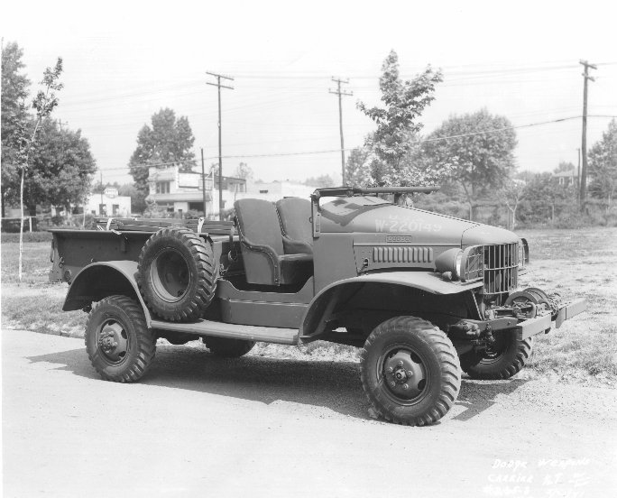 1940-45 Dodge WC4 open cab with winch