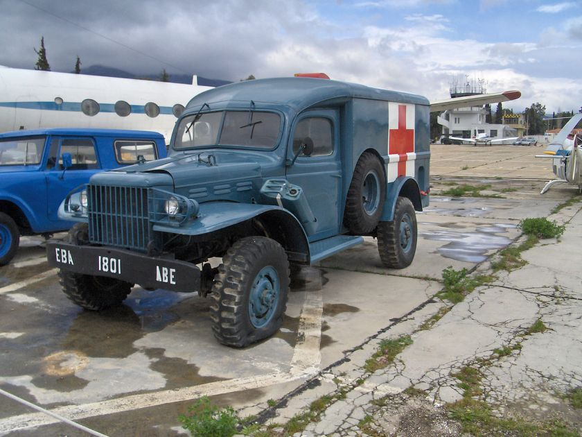 1940-45 Dodge WC54 in period Greek Airforce colors