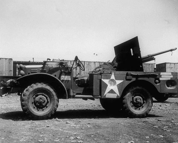 1940-45 Dodge wc55 m6 37 mm GMC