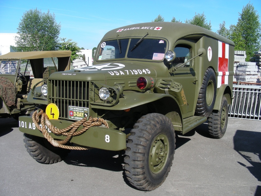 1940-45 DODGE WC57 4x4 Ambulance
