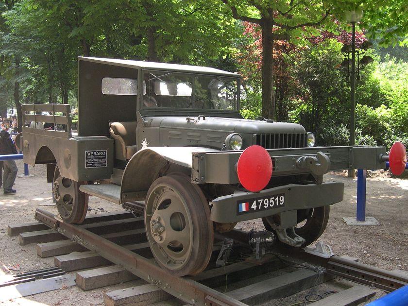 1940-45 France Paris Champs Elysees Dodge WC-51