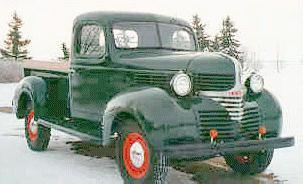 1940 Dodge 1,2ton pickup