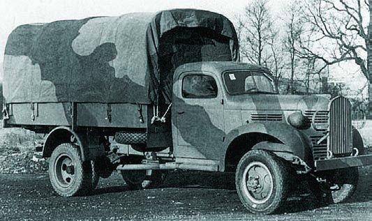 1940 Dodge Т203 (VF405), 4x4