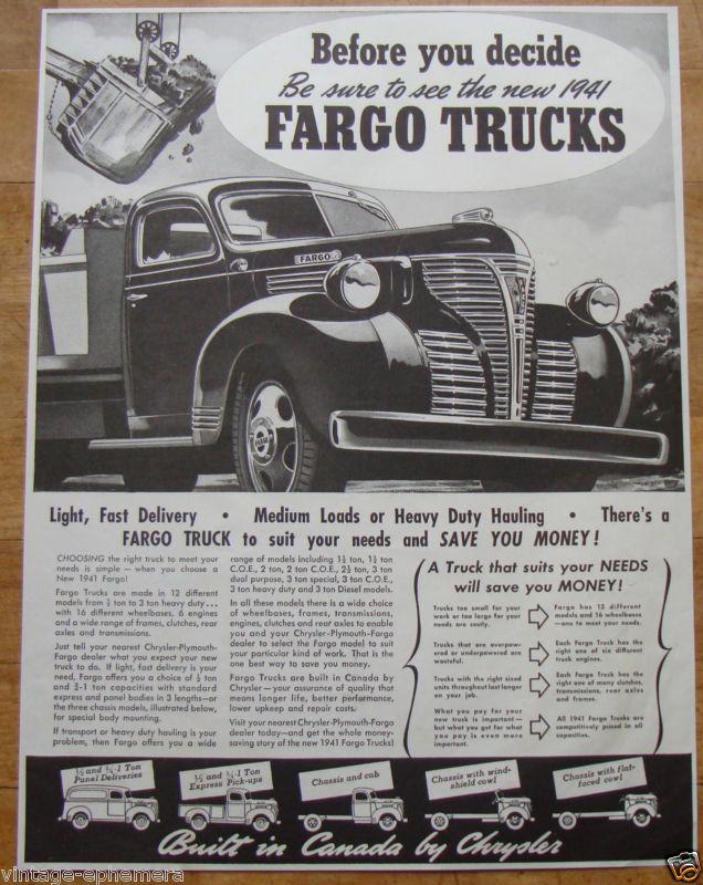 1940 Fargo