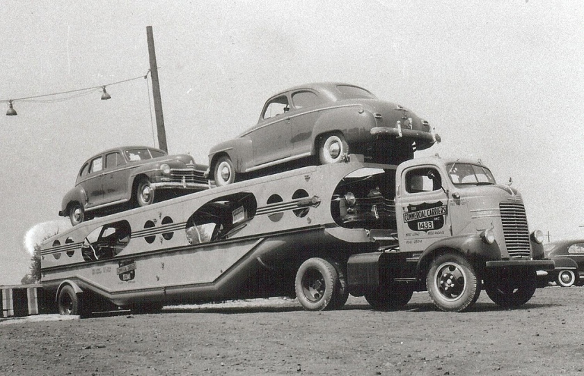 1940's Dodge COE and MHS trailer