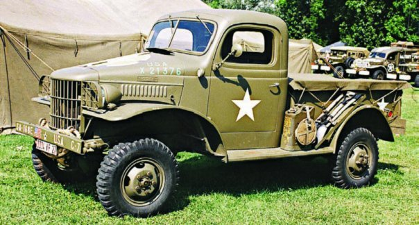 1941-43 Dodge Т207-Т215 WC1-WC40, 4x4