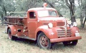 1941 Dodge firetruck