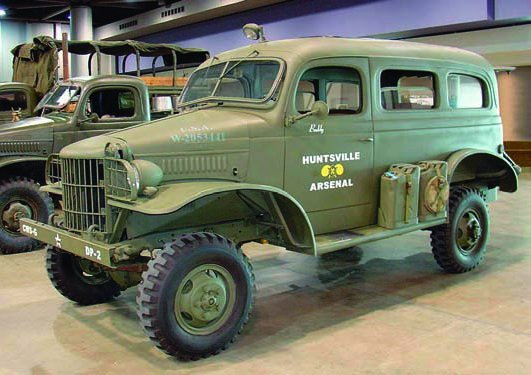 1942-43 Dodge Т207-Т215 WC10-WC26 Carryall, 4х4