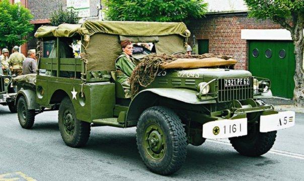 1942-45 Dodge Т214 WC52, 4x4