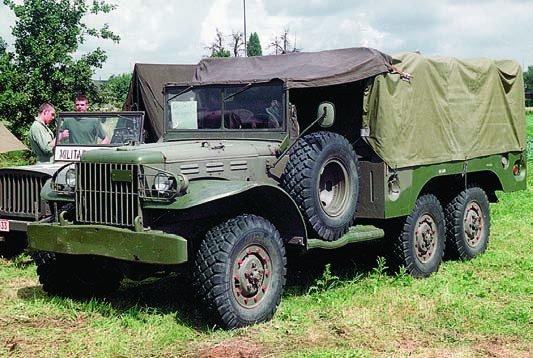 1942-45 Dodge Т223 WC62, 6x6