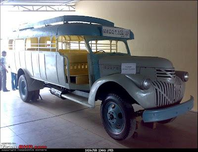 1942 Desoto Open Bus