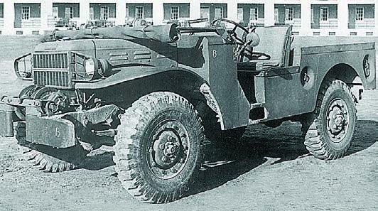 1942 Dodge Т225, 4x4