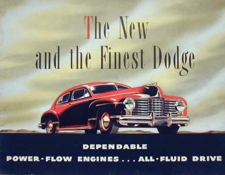 1942 Dodge sedan 4dr