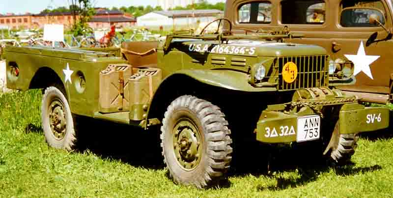 1942 Dodge WC-52 Weapon Carrier