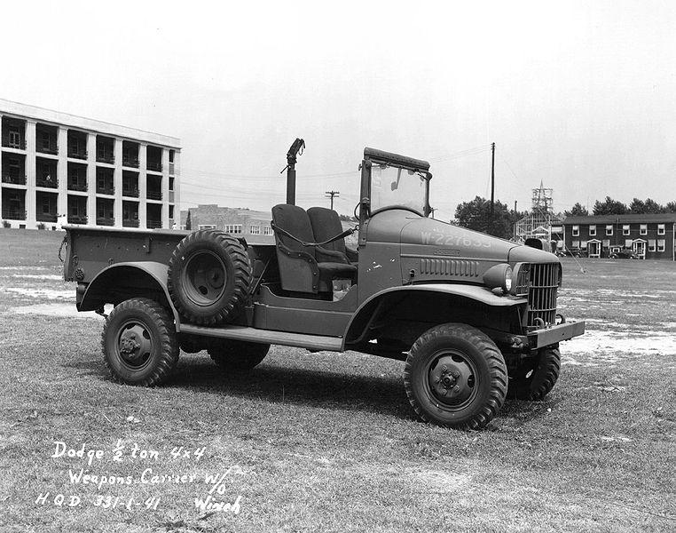 1942 Dodge WC Half-ton 4x4