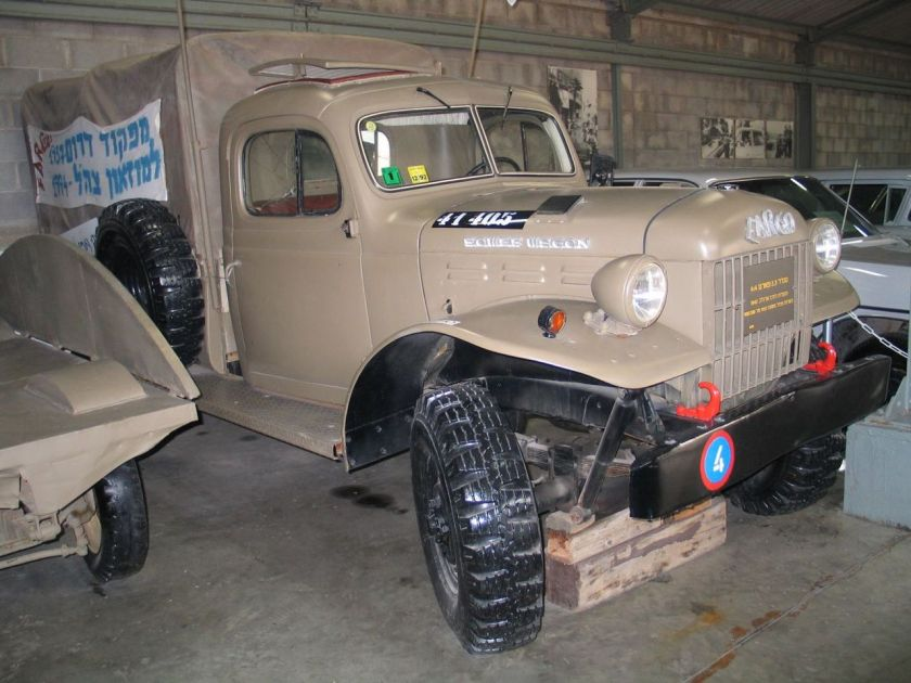 1942 Fargo Power Wagon truck in Batey ha-Osef Museum, Israel.