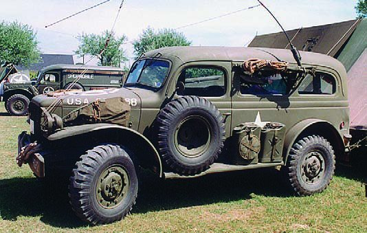 1943-45 Dodge Т214 WC53 Carryall, 4x4
