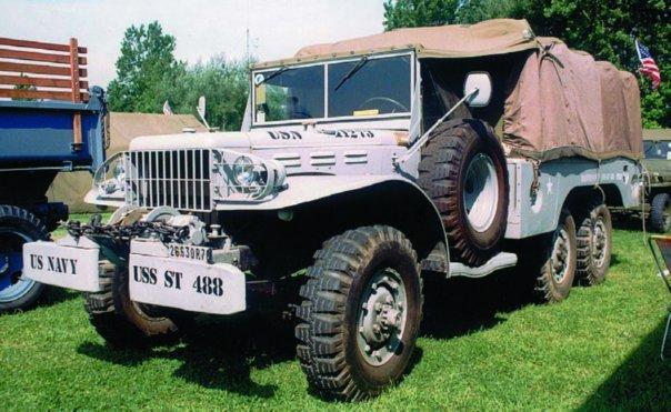 1943-45 Dodge Т223 WC63, 6x6