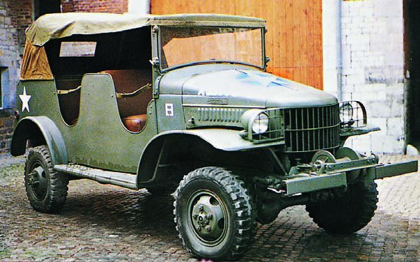1943 Dodge Т215 WC24, 4x4