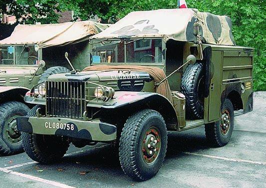 1944-45 Dodge Т214 WC60, 4x4