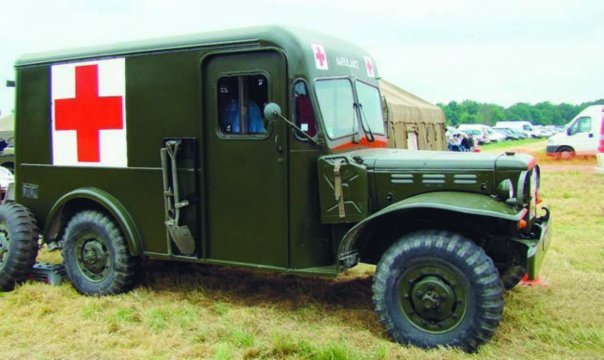 1945 Dodge Т214 WC54М (S7MA) with Boyertown body, 4x4,